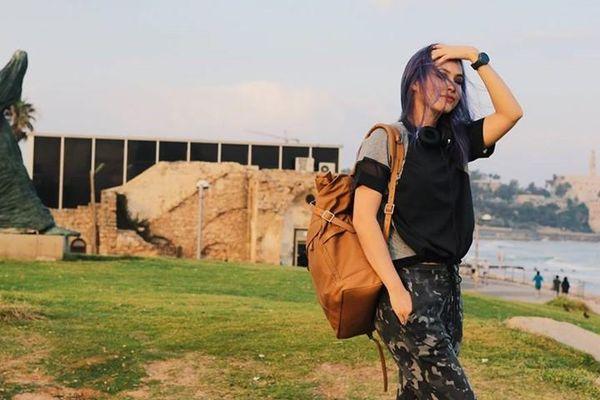 Á hậu Hoàng My kể chuyện hốt hoảng xuống hầm tránh tên lửa ở Israel