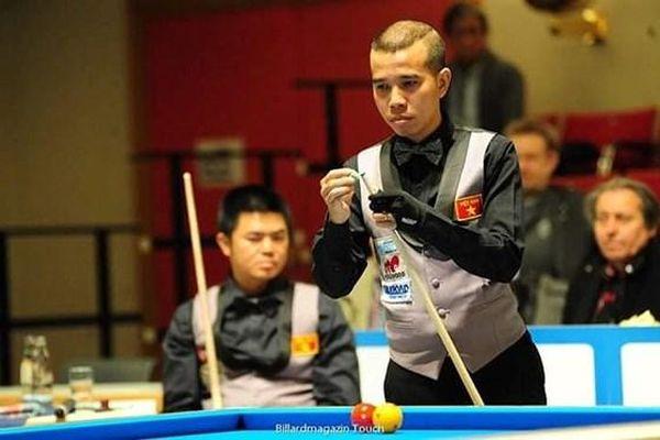 Việt Nam dừng bước ở tứ kết giải Billiards đồng đội thế giới