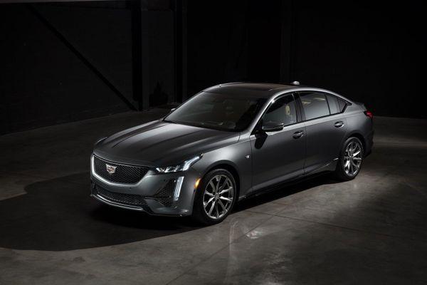 Lộ diện sedan mới của Cadillac sẽ đối đầu Mercedes-Benz E-Class