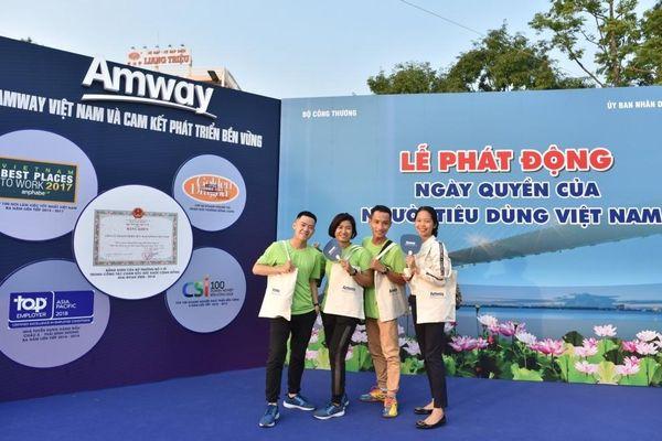 Amway Việt Nam đồng hành trong chuỗi hoạt động 'Ngày Quyền của người tiêu dùng Việt Nam'