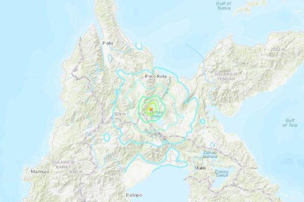 Động đất 5,4 độ làm rung chuyển đảo Sulawesi của Indonesia