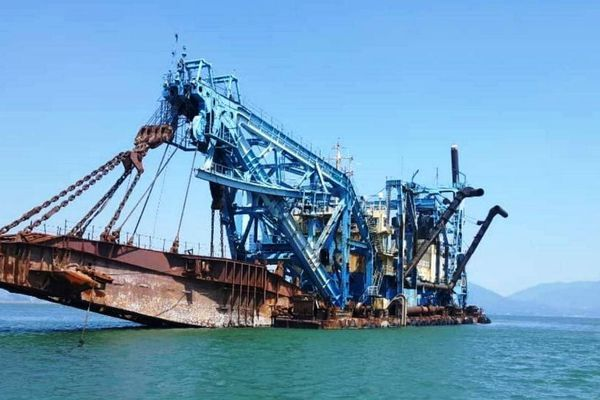 Dự án nhấn chìm 15 triệu m3 vật chất ra biển: Quảng Ngãi đề nghị xem xét lại