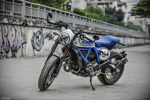 Ngắm Ducati Scrambler Cafe Race 2019 giá hơn 400 triệu đồng ở Hà Nội