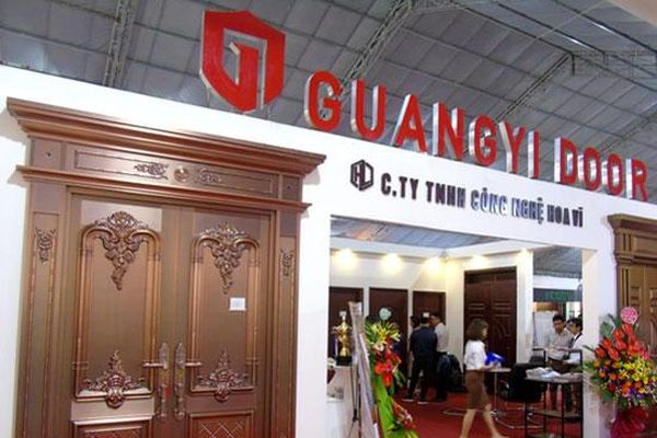Công ty TNHH Hoa Vĩ tham gia triển lãm việt build 2019: Hoa vĩ và Guangyi door, hàng nội địa vươn tầm quốc tế