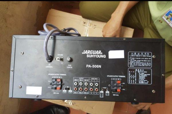 Chuyển Công an điều tra vụ kinh doanh amply Jarguar Suhyoung PA-506N giả mạo
