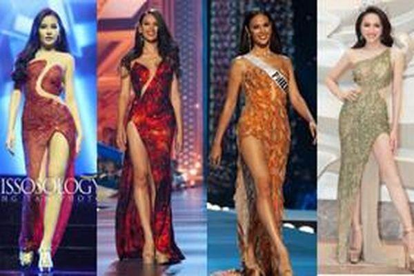 Cái kết trái ngang khi Hoa hậu mặc váy nhái, người được tâng bốc kẻ bị dìm không thương tiếc