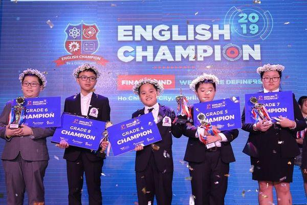 Lộ diện 5 quán quân toàn quốc English Champion 2019