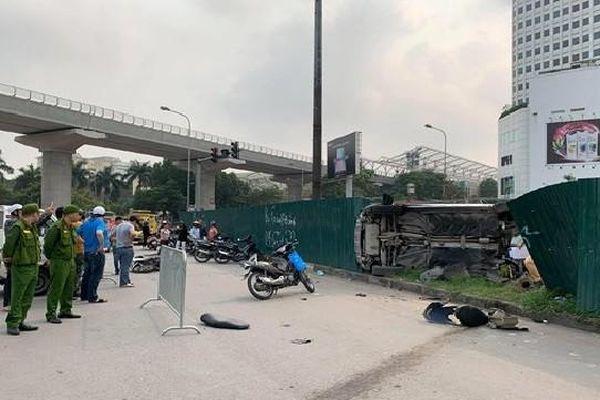 Nữ tài xế Mercedes đâm liên hoàn ở hầm cầu Mai Dịch khai gì?