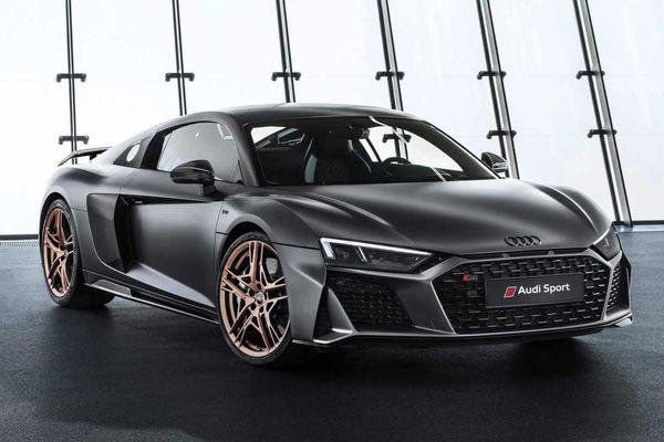 Audi R8 V10 Decennium dùng động cơ giống Lamborghini Huracan