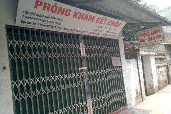 Vụ nữ bệnh nhân tử vong tại phòng khám tư ở Hà Nội: Tiết lộ gây sốc về phòng khám