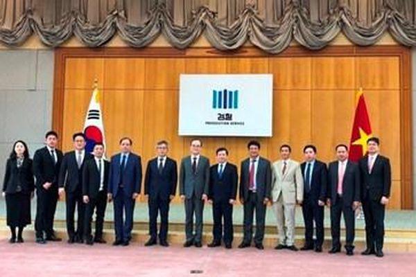 Chuyến thăm và làm việc tại Hàn Quốc của Viện trưởng VKSND tối cao Lê Minh Trí thành công tốt đẹp
