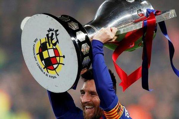 Messi rực sáng, Barcelona lên ngôi bá chủ La Liga