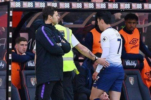 Thảm họa thẻ đỏ, Tottenham thua đau trên sân của Bournemouth