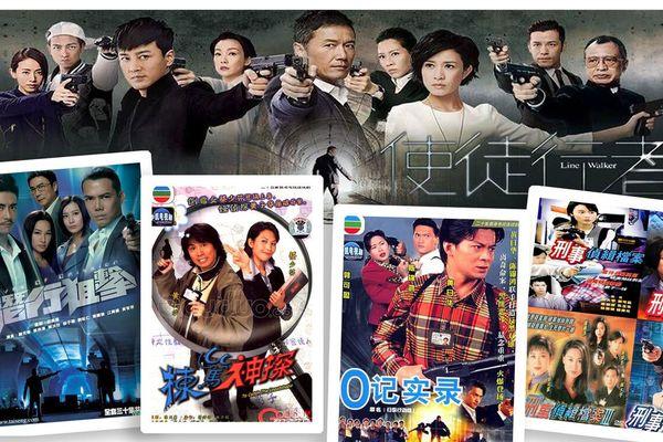 10 bộ phim kinh điển về đề tài cảnh sát của TVB (Phần 1)