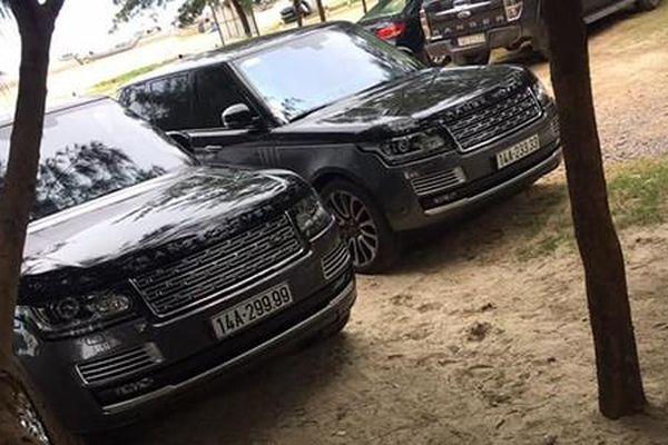 Đẳng cấp bộ đôi Range Rover 'biển khủng' tại Quảng Ninh