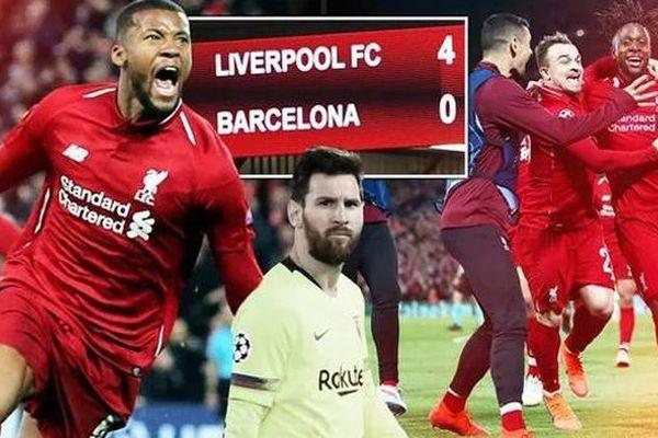 Ngược dòng siêu tưởng trước Barca, Liverpool vào chung kết C1