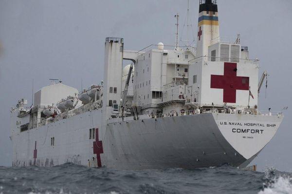 Mỹ sẽ cử tàu quân y đến bờ biển Venezuela