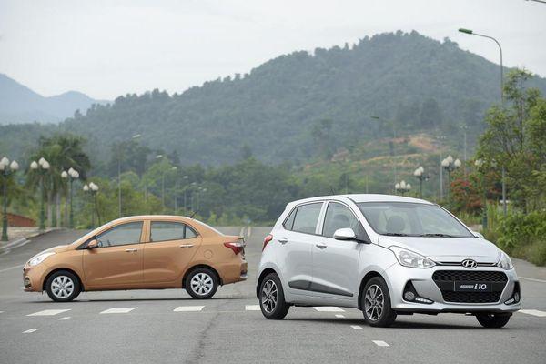 Grand i10 là mẫu xe bán chạy nhất của Hyundai trong tháng 4