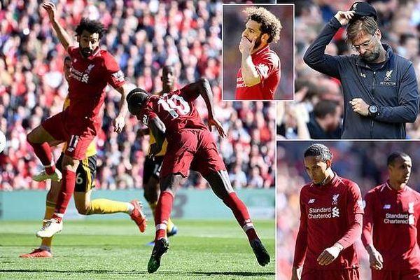 Truyền thông Anh: 'Liverpool là kẻ thất bại vĩ đại nhất lịch sử'