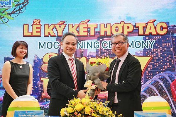 Tổng cục du lịch Singapore hợp tác với một DN Việt Nam