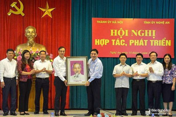 Nâng tầm hợp tác giữa Nghệ An và Thủ đô Hà Nội