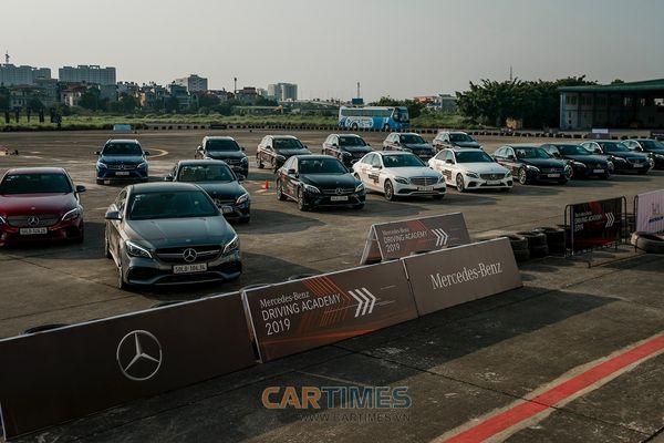 Những hình ảnh đẹp lạ tại Mercedes-Benz Driving Academy 2019