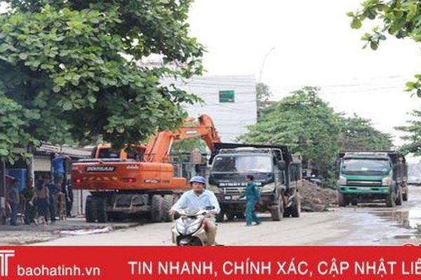 Thêm nhiều hộ dân đồng ý thi công đường Nguyễn Công Trứ