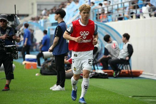 Incheon United 1-2 Sangju FC: Công Phượng không được trao cơ hội