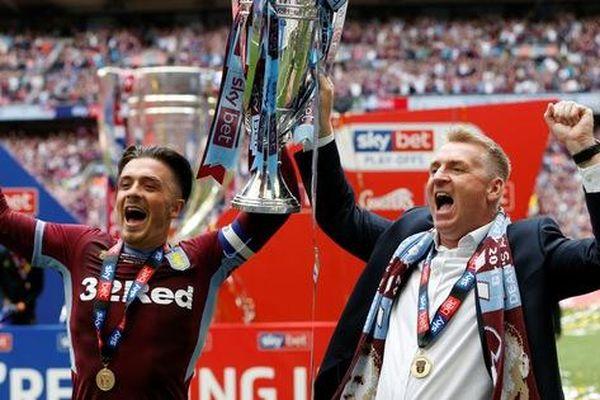 Hạ Derby County sau 97 phút, Aston Villa trở lại giải Ngoại hạng