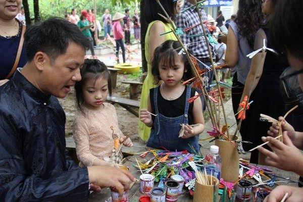 Tháng dành cho thiếu nhi tại Làng Văn hóa – Du lịch các dân tộc Việt Nam