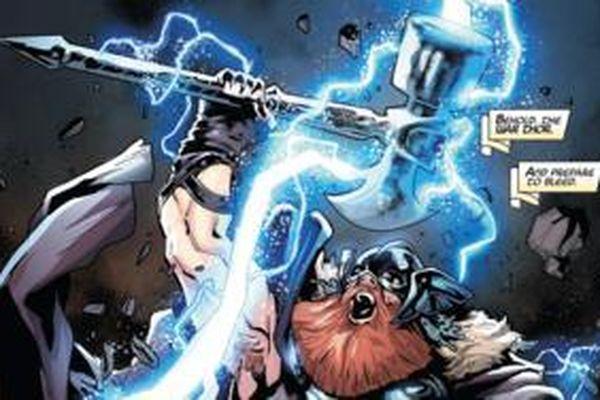 Stormbreaker sẽ có hình dáng thế nào nếu như không dùng tay của Groot?