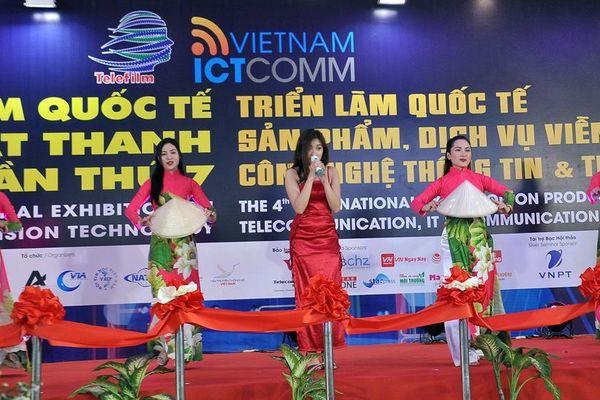 Triển lãm Telefilm và Vietnam ICTComm 2019