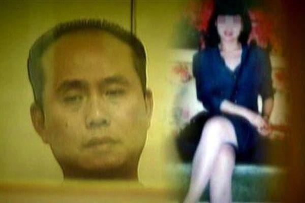 Vệt máu ở phòng tắm 'tố' hung thủ giết cô giáo tiếng Anh phi tang xác