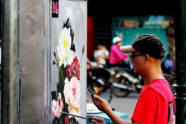 Khi tủ điện 'nở hoa'