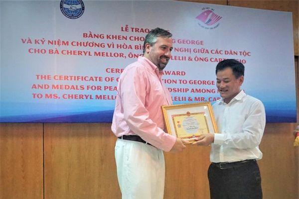 Ghi nhận đóng góp của trường George với 20 năm làm cầu nối hữu nghị Việt - Mỹ