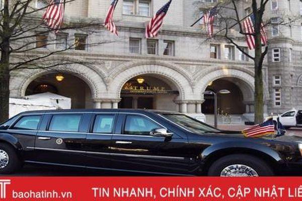 'Tất tần tật' về chiếc Cadillac limousine dành riêng cho Tổng thống Trump