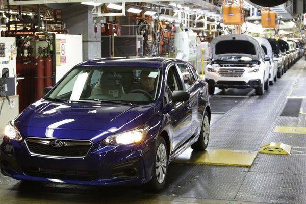 Ôtô Nhật được sản xuất và bán ra nhiều nhất tại Mỹ