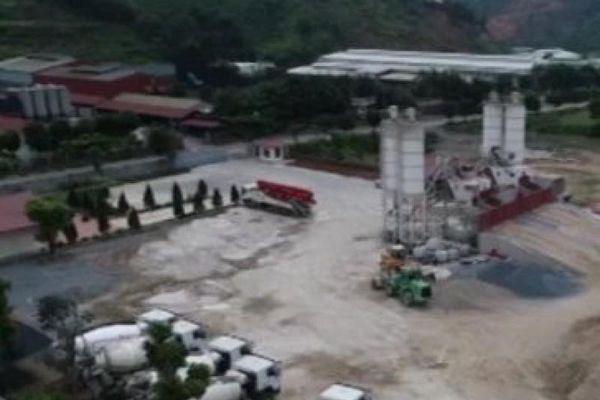 Trạm trộn bê tông của Công ty Đại An gây ô nhiễm môi trường?