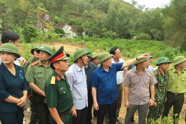 Chưa sử dụng trực thăng để chữa cháy rừng ở Hà Tĩnh