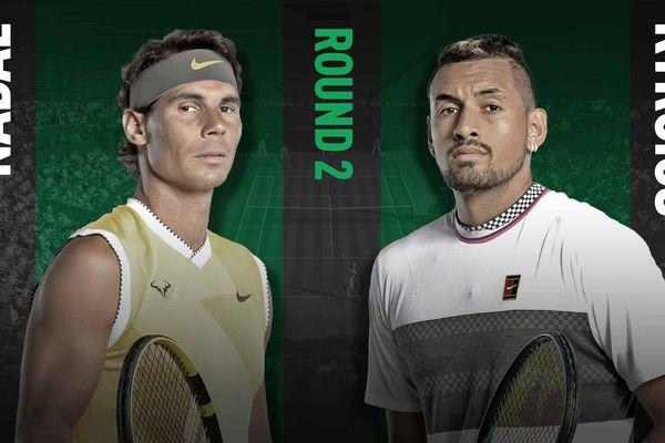 Nadal đấu Kyrgios – ân oán chất chồng, Federer khuyên Next Gen 'gửi nước mắt trong phòng thay đồ'