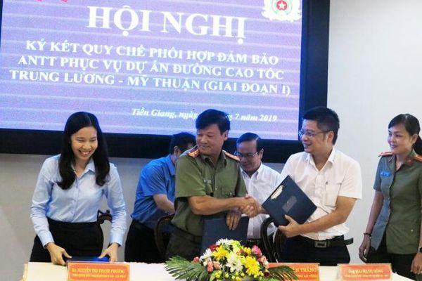 Đảm bảo an ninh cho dự án cao tốc Trung Lương – Mỹ Thuận
