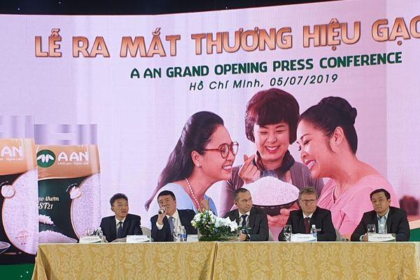 Tập đoàn Tân Long ra mắt thương hiệu Gạo A An cho thị trường nội địa