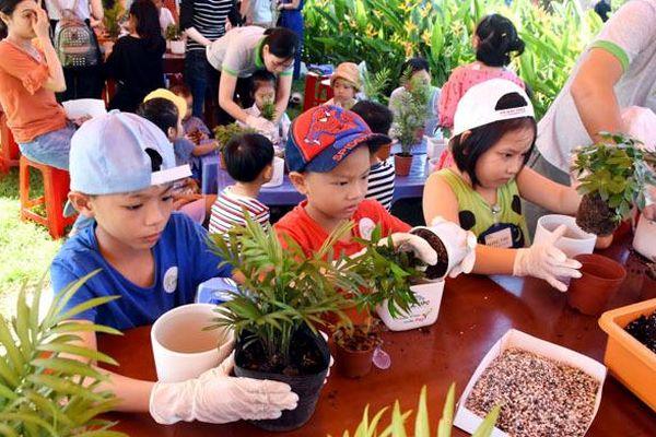 Ngày hội 'Tương lai xanh' dành cho trẻ