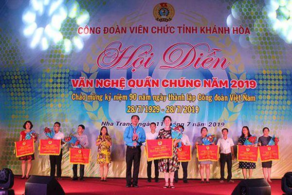 Hội diễn văn nghệ quần chúng Công đoàn Viên chức tỉnh: 500 đoàn viên tham gia