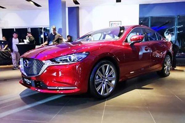 Mazda6 2019 bản tăng áp từ 903 triệu tại Đông Nam Á