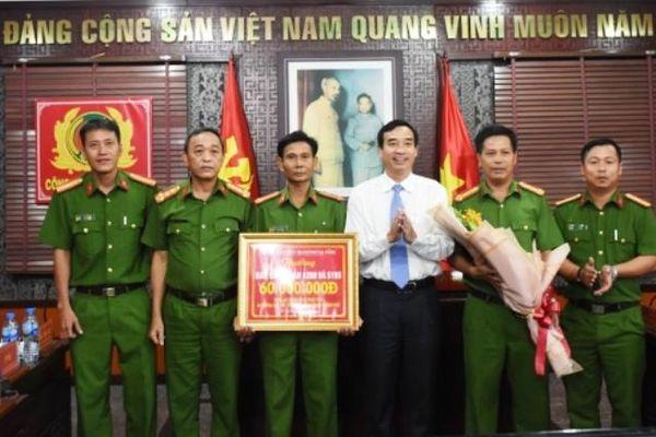 Đà Nẵng thưởng 'nóng' thành tích phá án ma túy lớn