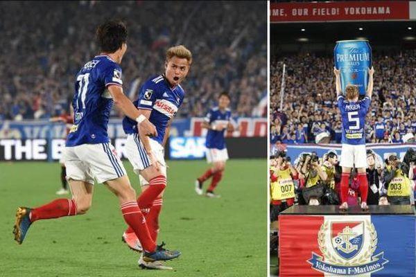 Tuyển thủ Thái Bunmathan với danh hiệu cầu thủ xuất sắc trận