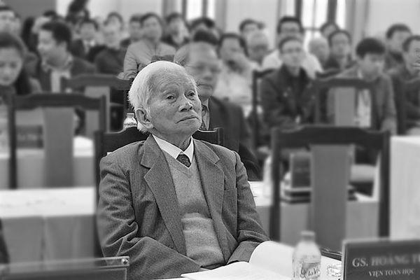 Giáo sư Hoàng Tụy: Từ cậu học trò mồ côi đến nhà toán học quốc tế
