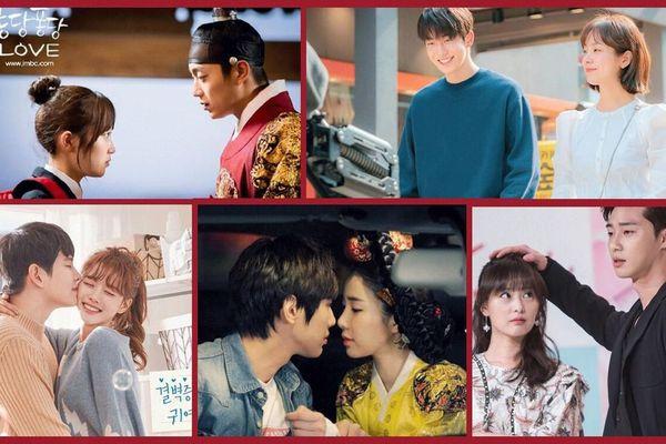 8 cặp đôi phim Hàn có chiều cao chênh lệch một cách đáng yêu!