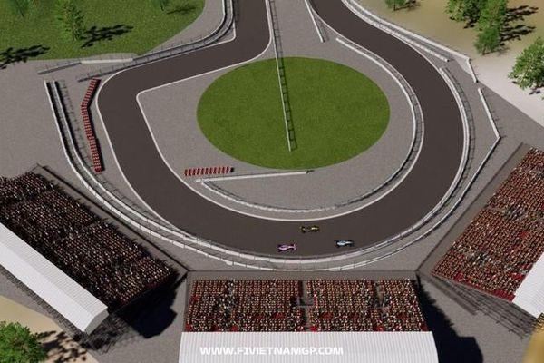 Hình ảnh công bố mới nhất trường đua F1 Mỹ Đình từ Grand Prix Việt Nam